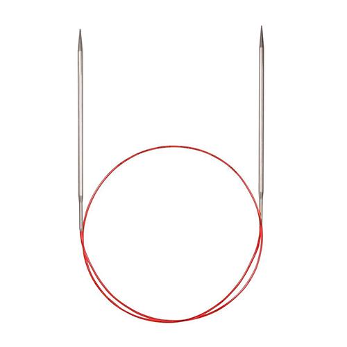Спицы круговые с удлиненным кончиком, №6, 100 см