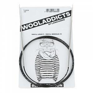 Спицы круговые супергладкие WOOLADDICTS Lace №3,75, 80 см