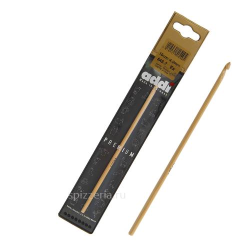Вязальный крючок из бамбука Адди, №3.25, 15 см