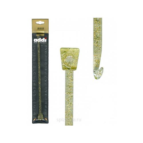 Крючок вязальный Тунисский, пластик, №6, 30 см