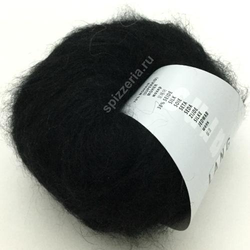 Пряжа для паутинок кидмохер на шелке Lang Yarns